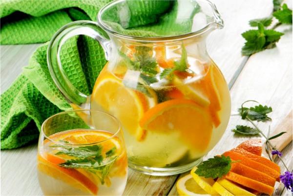 Limonáda z bylinek
