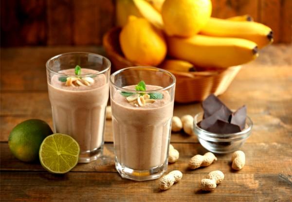 Banánový milkshake